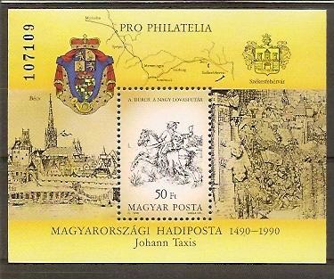 Ungarn Briefmarken Briefmarken Ungarn 1990 Kelemen Mikes Mi.4094 Gestempelt